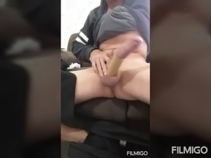My super hard super wet and horny uncut cock for you