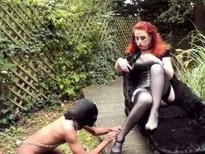 Foot Slave bdsm bondage slave femdom domination