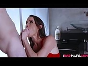 Sofie Marie ended up just getting the studs cock more wet with her sloppy...