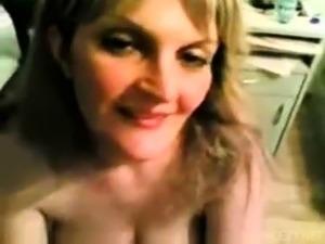 Blonde Shower Blowjob