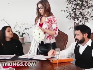Sneaky Sex - Charles Dera Lena Paul - Plowing The Wedding