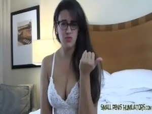 Your cock is too small to satisfy me free