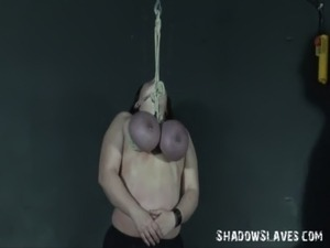 Andreas tit hanging and extreme mature breast of hung and whipped slave free