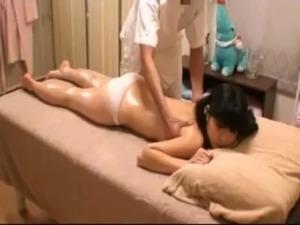 Schoolgirl at massage parlor Voyeur free