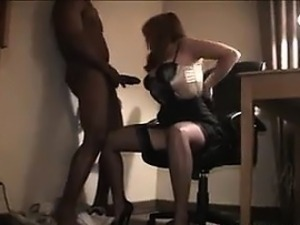 Red Haired Wife Wants Black Cock In Her