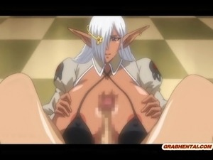Huge boobs hentai wet pussy fucked and cummed allbody