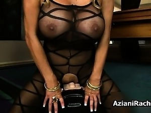 Busty blonde milf goes crazy riding part3