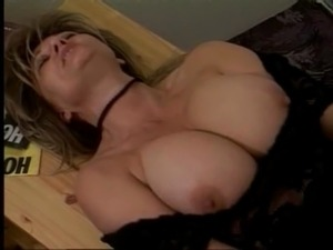Big titted german mom fucked hard on a table free