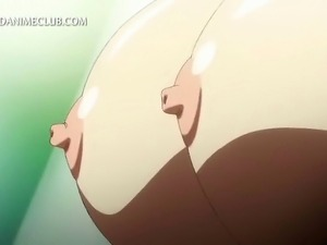 Hot bodied hentai fairy having her huge boobs licked and fucked
