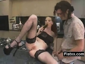 Horny Fisting Wife Extreme Sex