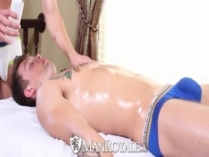 HD - ManRoyale Hardcore massage and ass pounding for two hunks free