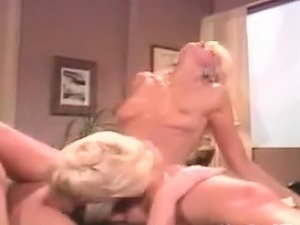 Blonde Lesbians In The Office Classic