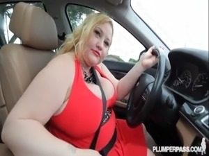 Blond bbw bitch