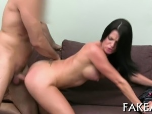 Racy and wild anal poundings for bewitching sweethearts