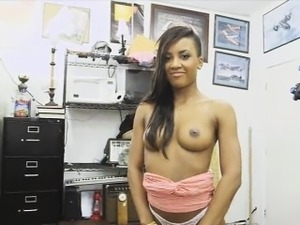 Busty ebony chick wanted to get fucked