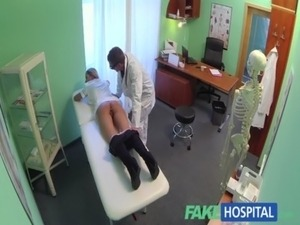FakeHospital Naughty blonde nurse gets doctors full attention free