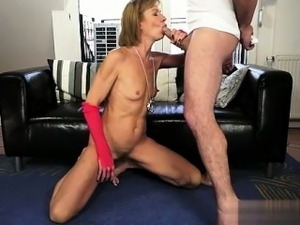 Busty cowgirl bondage squirt