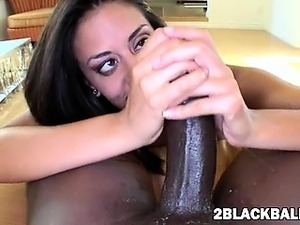 Big black cock for very tight Lyla Storm fucking