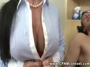 Horny dentist and nurse suck and jack cock free
