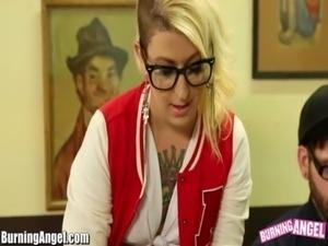BurningAngel Punk Miss Genocide After School Fuck Lesson free