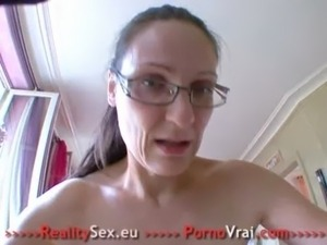 Sexy mature fuck with a stranger !! French amateur free
