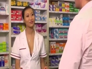 ILL GUY GETS TREATED BY AN ASIAN DOCTORS-ASSISTANT (ANAL) free