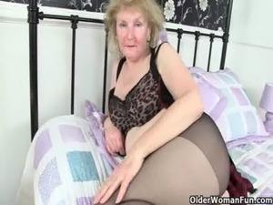 pantyhose smoking sexy blonde
