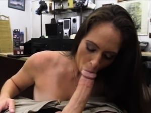 Hot ex dominatrix fucked at the pawnshop by pawnkeeper