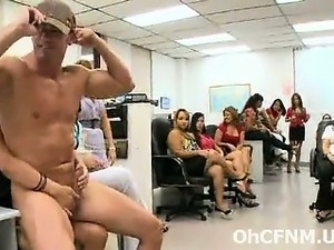 crazy hot office party