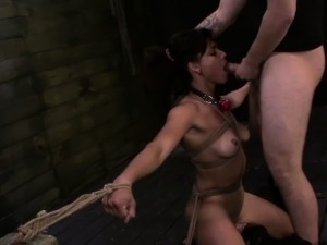 FetishNetwork Valentina on first bondage