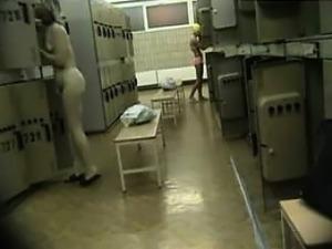 Many girls spied on in locker room
