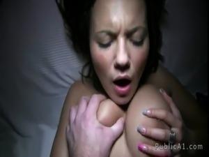 Nude beach sex voyeur