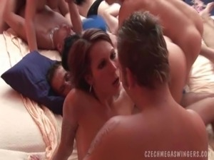 BIGGEST SWINGERS ORGY free
