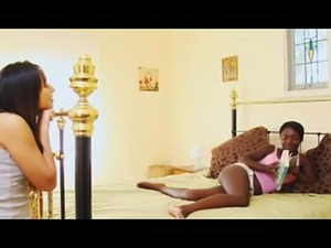 This is the first part of a really hot encounter between Ebony Marika and...