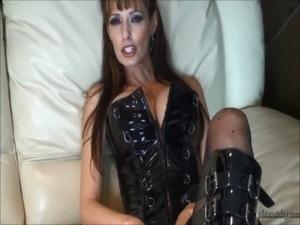 Hot MILF Pegging Her Man & Facial!! free