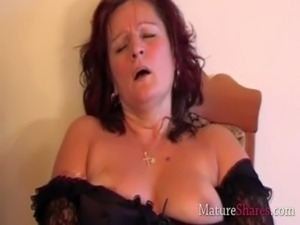 Horny grandma fucking real toy dick free
