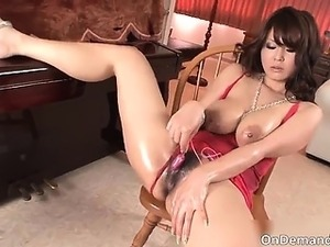 Hot and sexy brunette big boobed asian part1
