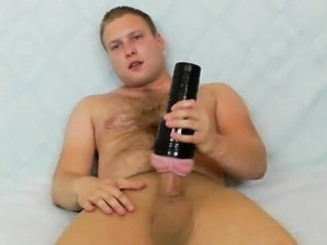 Gay teddy bear does a solo in nylon panty-hose