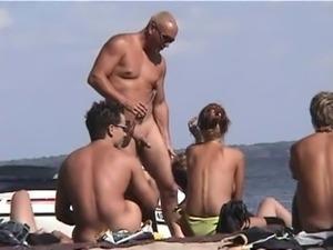 Teens beach sex