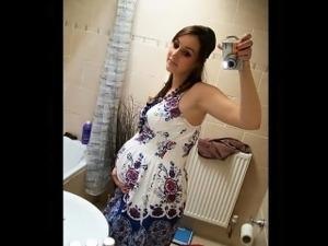 pregnant girls in bikini