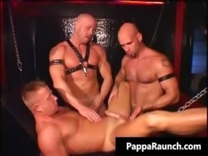 Sexy hunk is sex slave and gets tight part5