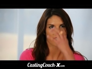 CastingCouch-X Teen fucked first time on cam for $ free