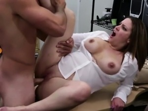 Gorgeous MILF showing huge tits