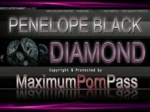 Penelope Black Diamond - Car driving tour & topless Boobs free