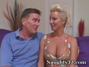 Naughty TJ Shared By Hubby With Long Cock free