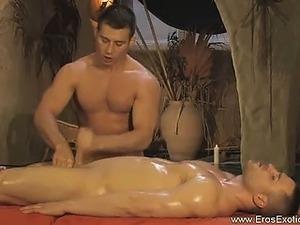 Erotic Genital Massage Gives Pleasure