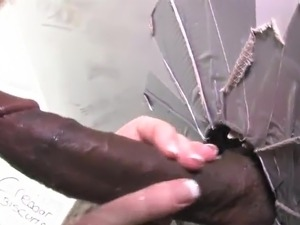 Sexy pussy about great chest playing inside Toilet And have made love