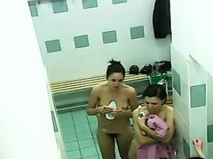 Hidden Camera In The Gym Locker Room