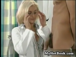 Checking female penis doctor the