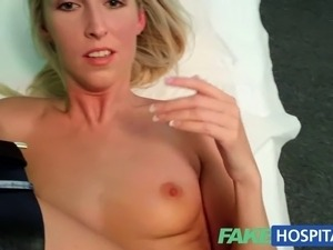 Blonde womans headache cured by cock and her squirting pulsing wet pussy